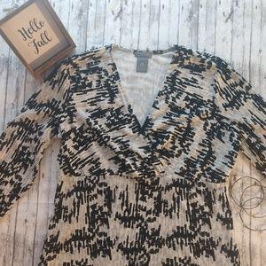 Ann Taylor Petite Dress Blouse